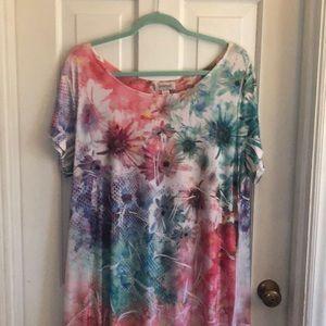 Floral Dress by Avenue Size 18/20